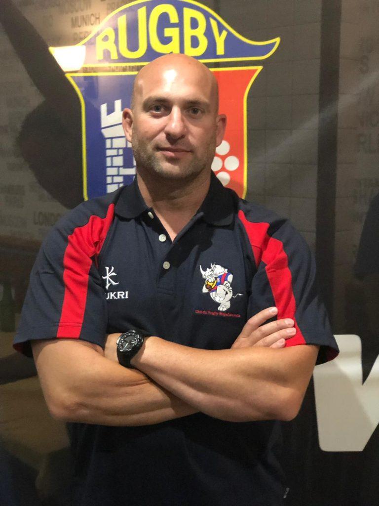 Roberto Pintado «Corcu» nuevo entrenador del Senior Masculino.