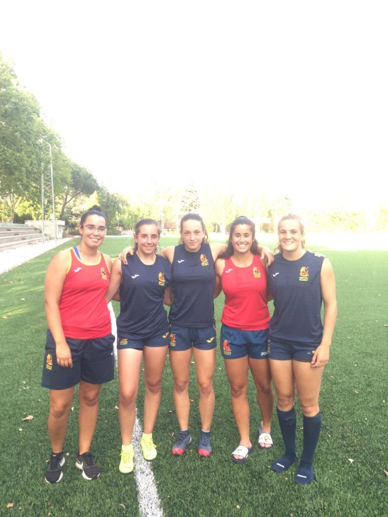Majariegas concentradas con la Selección Española