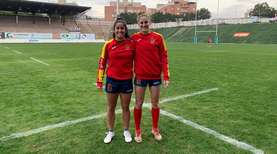 Lucía Díaz y Carmen Rodera convocadas con las Leonas