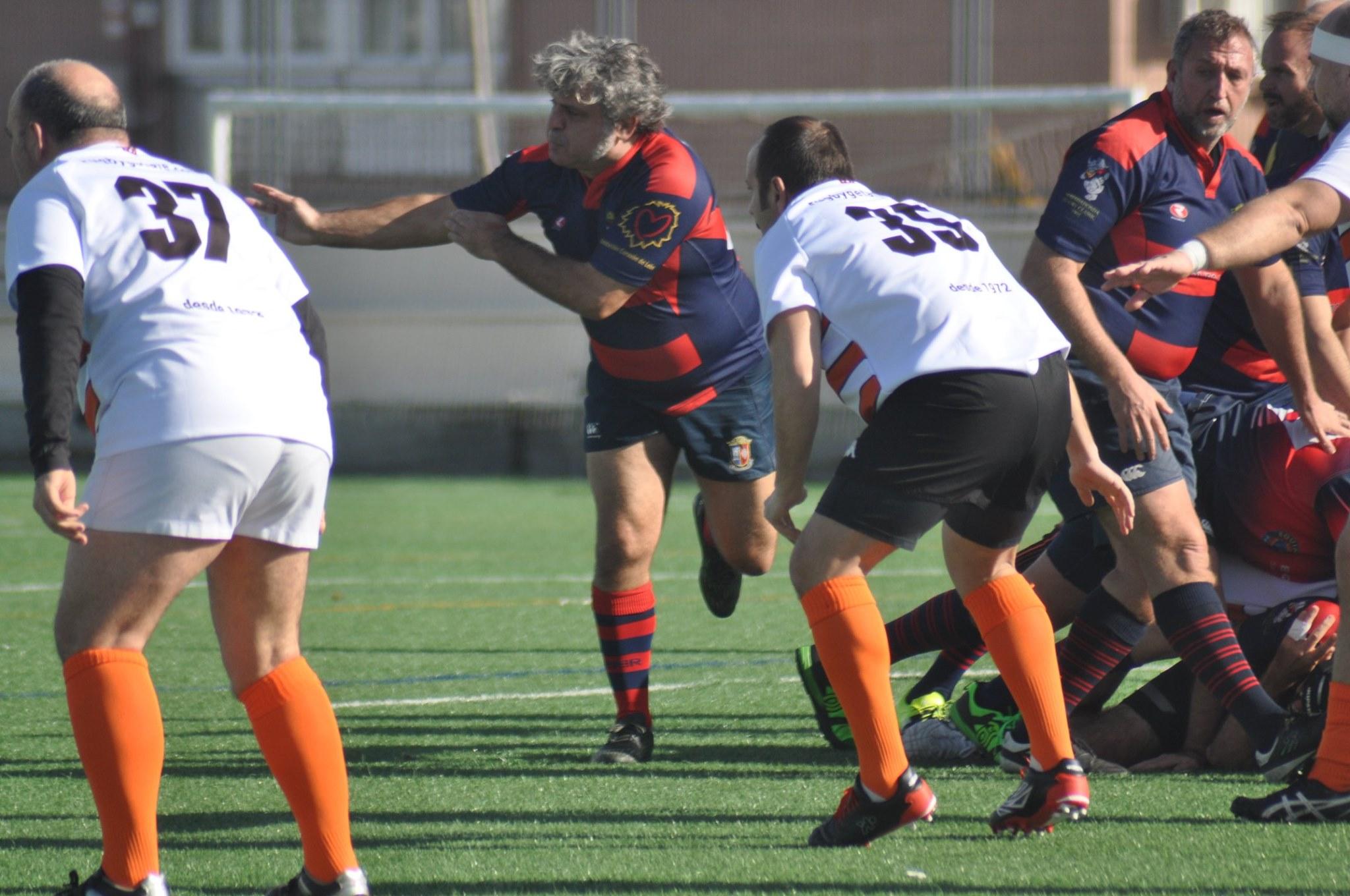 Tercio viejo vs Getafe Rugby Club