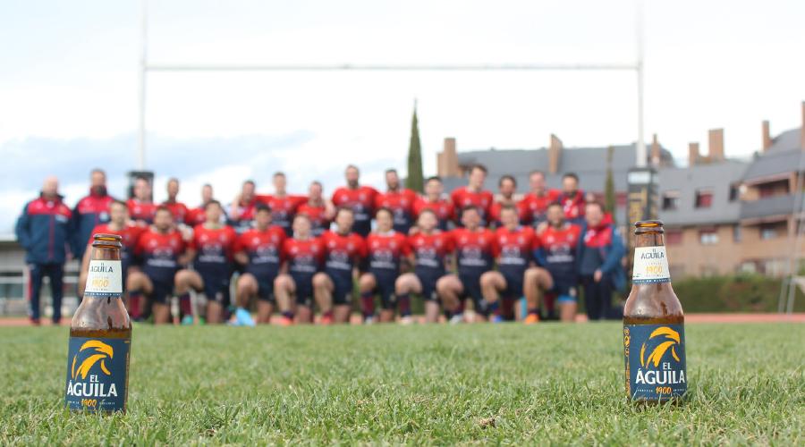 Cervezas El Águila colabora con Rugby Majadahonda