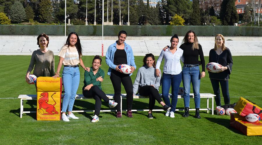 Tres majariegas imagen de 'Mujeres en Rugby'