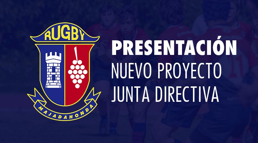 Presentación nuevo proyecto Junta Directiva