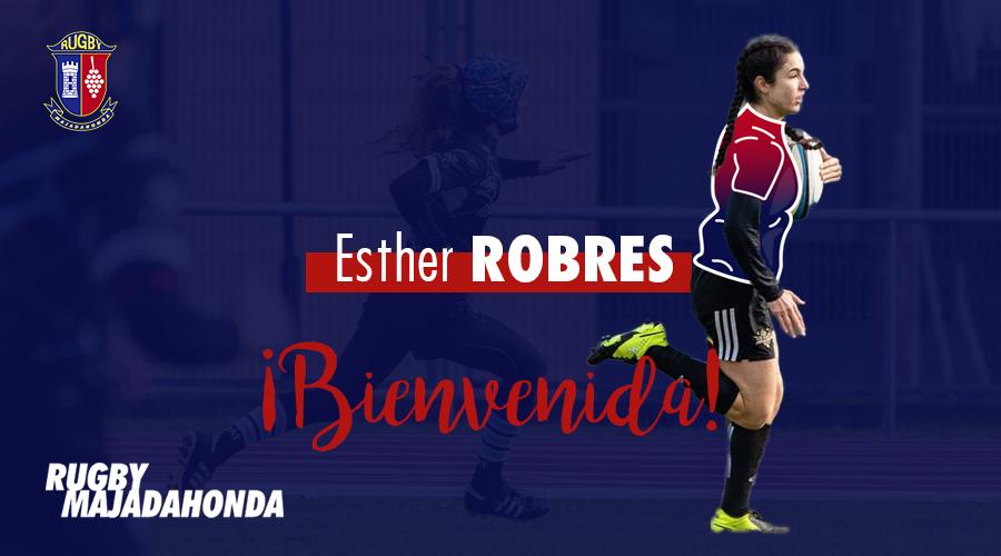 Rugby Majadahonda incorpora a Esther Robres