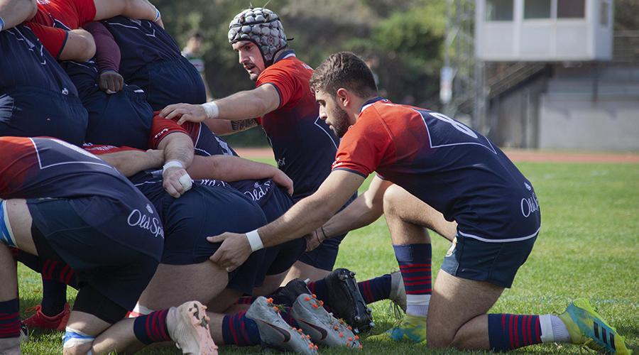 Rugby Majadahonda visita al líder de DHB