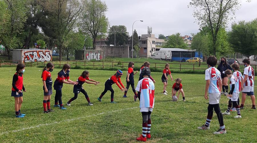 Rugby Majadahonda, escuela de rugby femenino