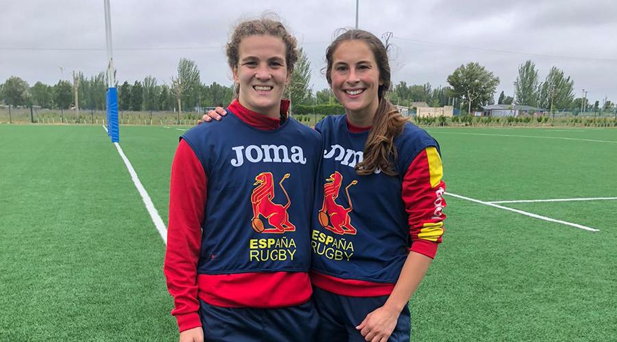 Rocío Rodera y Marta Cantabrana, majariegas con las Leonas7s
