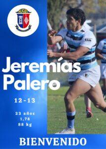 Jeremías Palero viene al CRM