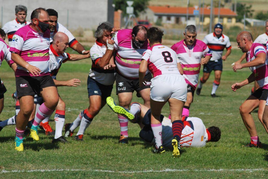 Gran jornada de rugby Veteranos en Yuncos